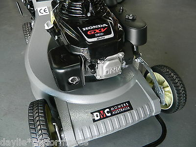 "LAWNMOWER SELF PROPELLED DMC 21""WITH A 5.5hp honda Engine ALLOY BODY MULCHING"