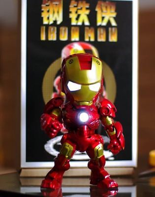 SD IRONMAN MK7 Mark 7 GK WITH LED Recast Resin