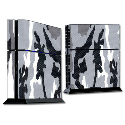 Skin Decal Wrap for Sony PlayStation 4 PS4 Console sticker Gray Camo