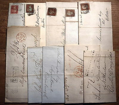 GB SCOTLAND/SCOTS postal history/classic early cover collection~cancels/postmark