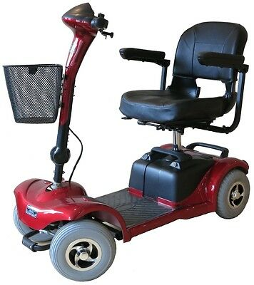 Explorer 4 Lightweight Travel Mobility Scooter Car Boot NEW 4MPH Pavement Class2