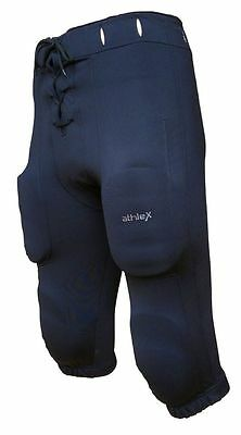 Athlex American Football Hose - Game Pant- Football Pant - schwarz - OHNE PADS!