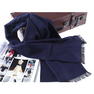 NEW MEN'S FASHION LONG WOOL WOOLEN SCARF A225m, COLOR #04