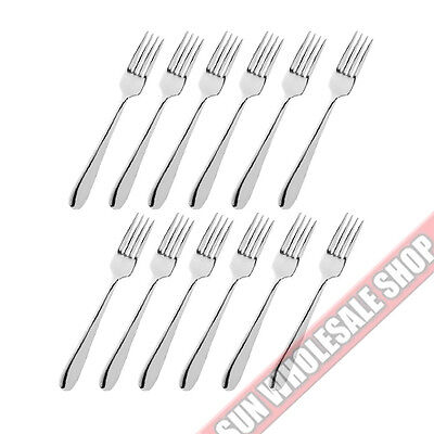 STANLEY ROGERS Albany 12 Piece Fruit Fork Set Quality Stainless Steel!