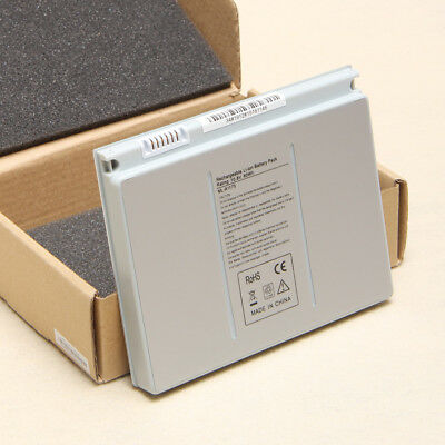 """New 9 Cell Battery for Apple Macbook Pro 15"""" A1260 A1226 A1211 MA681LL/A Silver"""