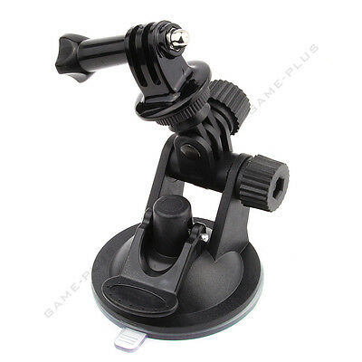 Suction Cup Mount + Tripod Mount With Screw For GoPro Hero 1 2 3 3+ 4 Camera