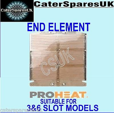 Dualit Proheat New Toaster Element End Universal Fits 3 / 6 Slice Models Parts