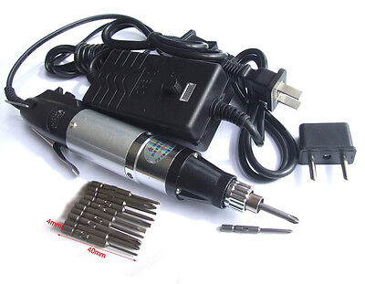 set Electric Screwdriver Screw Hand + 10 plug + AC 220V or AC 110V Power Supply