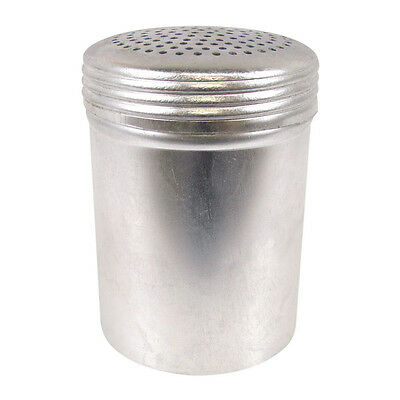 10 oz. Aluminum Shaker without Handle Cinnamon Cocoa Powder Sugar Salt Pepper