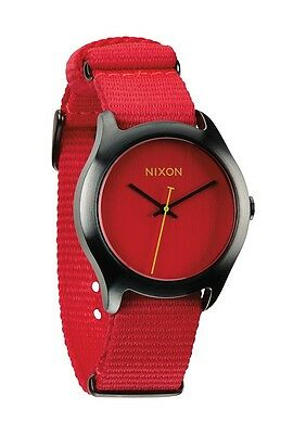 Authentic Nixon MOD Bright Red Watch A348 1600 Brand New In Box! A3481600