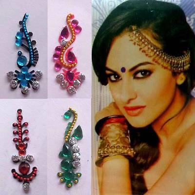 Bindis Indischer Stirnschmu​ck Schmuck Bollywood Body Sticker Tikka Karneval