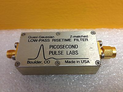 Picosecond Pulse Labs 5910 Quasi-Gaussian Low-Pass Risetime FIlter