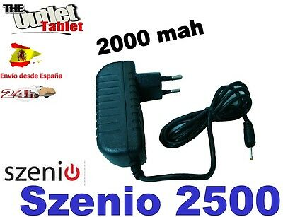 CARGADOR DE PARED PARA TABLET SZENIO 2500 2000 MAH wall charger