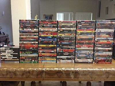 HUGE LOT OF 170 DVD's !!  All DVD's. No Copies Or Bootlegs.