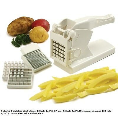 Norpro French Fry Cutter Potato Ricer with Suction Base