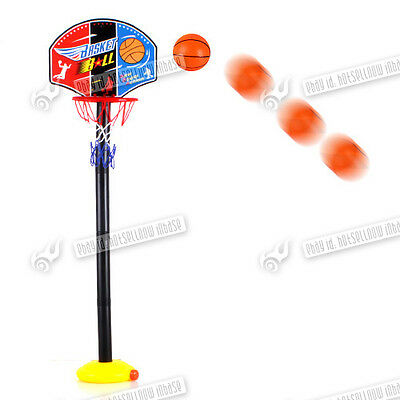 Kids Basketball Set System Indoor And Outdoor Stand Game Hoop Ball Set Uk