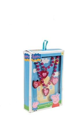 Set Regalo Accessori Vari Peppa Pig 4 Pezzi