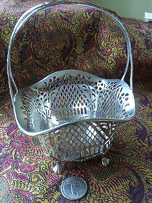 GORHAM STERLING RETICULATED BASKET