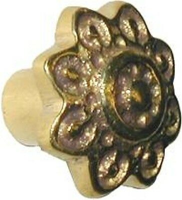 Victorian Style Cast Brass SMALL DRAWER KNOB B0391