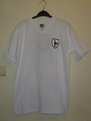 8e8bdddae Bnwt Tottenham Hotspur Home SS Retro Football Shirt 1962 With Number 8 On  Back