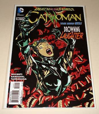CATWOMAN # 14  DC Comic   January 2013   VFN/NM  Death of the Family