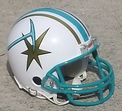 Sacramento Gold Miners Cfl - Usa Football Mini Helmet