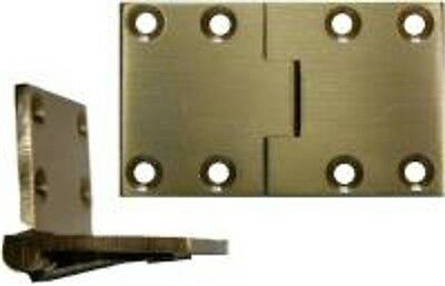 English Butler Tray Hinge - Brass   B1711