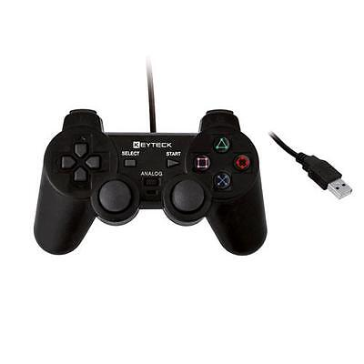 Keyteck Gamepad Usb Nero Per Pc Jpd-001