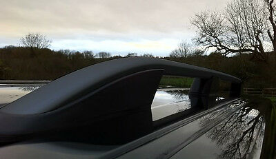 Vw Volkswagen T5 Transporter Brushed Aluminium Roof Rack Rail Side Bars Swb Set