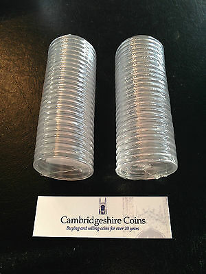 25 x Lighthouse Coin Capsules £5 £2 £1 50p Coin Hunt All sizes 14 - 41mm