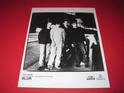 BLUR  original 10x8 inch promo press photo photograph 517-4