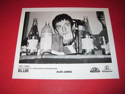 BLUR  original 10x8 inch promo press photo photograph 517-9