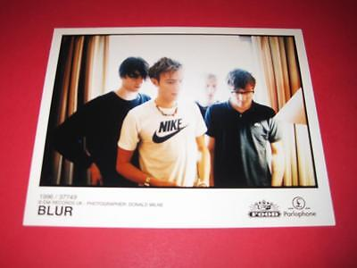 BLUR  original 10x8 inch promo press photo photograph 517-11
