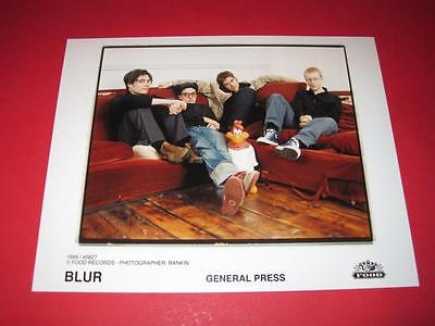 BLUR  original 10x8 inch promo press photo photograph 517-18