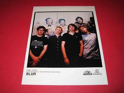 BLUR  original 10x8 inch promo press photo photograph 517-23