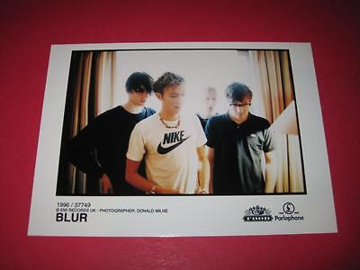 BLUR  original 7x5 inch promo press photo photograph 517-28