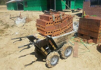 Mini Dumper key start .skid steer mini dumpers 4x4   power barrow mini loader