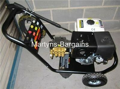 3600Psi Neilson Petrol Pressure Washer With 13Hp Petrol Engine.