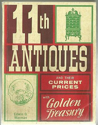 Warman's 11Th Antique Price Guide Copyright 1972 By Edwin G. Warman