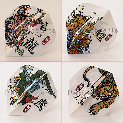 5 x SETS of ONE80 'TATTOO' DART FLIGHTS - Choose from 4 Designs