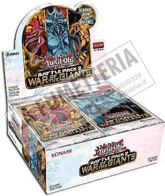 Yu-Gi-Oh! Ygo Battle Pack 2 War Of The Giants Box 36 Packs Eng