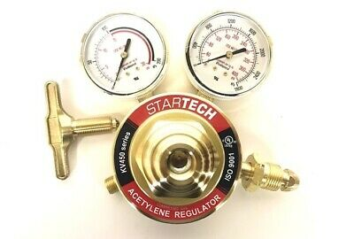 Acetylene Gas Regulator Heavy Duty For Welding & Cutting Cga510 Sr460-510