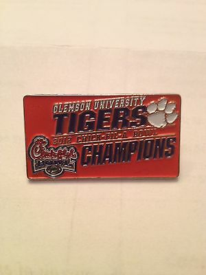 Clemson Tigers Chick-Fil-A Championship Bowl Pin 2012 (Limited Edition)