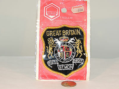 Great Britain Patch in Original package (4438)