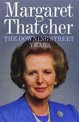 The Downing Street Years by Margaret Thatcher (Paperback 2012) Great Gift too!