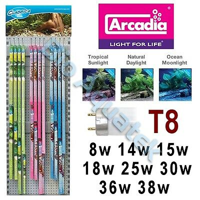 Arcadia Classica T8 Aquarium Fish Tank Lamp / Bulb / Tube Tropical Marine Light