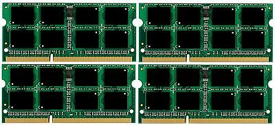 32GB 4X8GB PC3-10600 DDR3-1333MHz SODIMM Memory for Apple MAC Mini