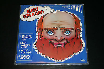 GENTLE GIANT, GIANT FOR A DAY LP, Capitol EMI SW-11813, 1978 Prog,SHIPS US FREE!