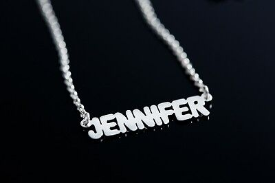 f869cf759cd48 PERSONALIZED .925 STERLING Silver Indian ( Hindi ) Look Any Name ...