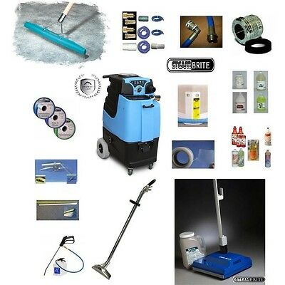 Mytee LTD5 Speedster Carpet Cleaning Machine 12gal 500psi Dual 3 Stage Bundle
